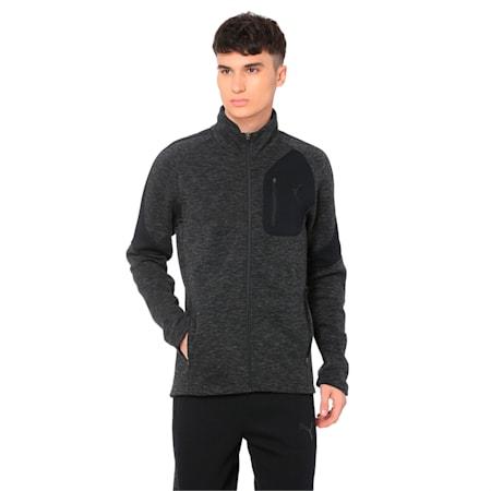 Evostripe Jacket, Cotton Black-heather, small-IND