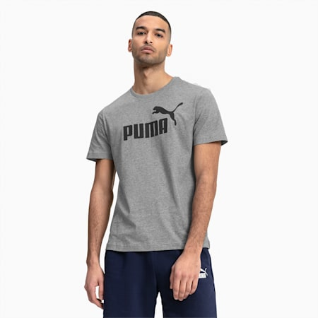 Essentials Short Sleeve Men's Tee, Medium Gray Heather, small