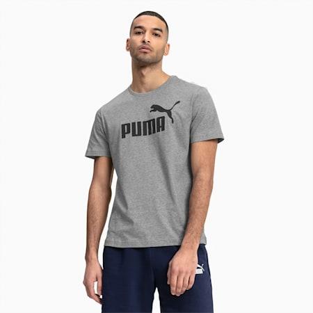 T-shirt a maniche corte Essentials uomo, Medium Gray Heather, small