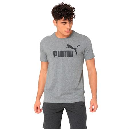 Essentials Short Sleeve Men's T-Shirt, Medium Gray Heather, small-IND