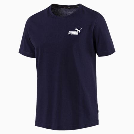 Men's Essentials Small Logo T-Shirt, Peacoat, small-SEA