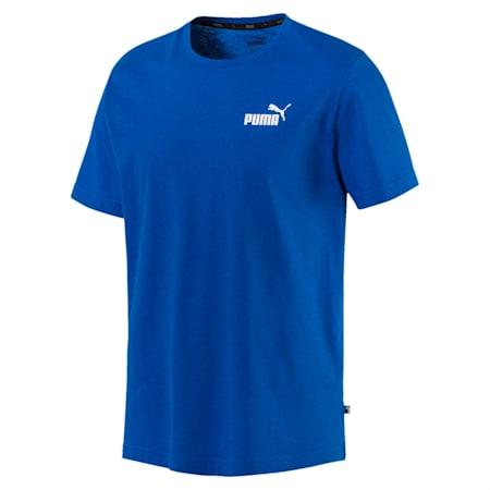 Men's Essentials Small Logo Cotton T-Shirt, Puma Royal, small-IND