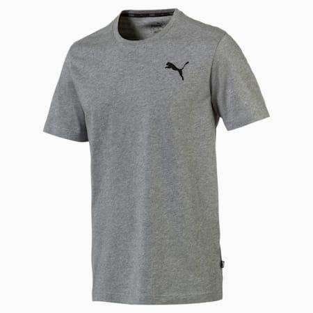 Men's Essentials Small Logo T-Shirt, Medium Gray Heather-_Cat, small-GBR