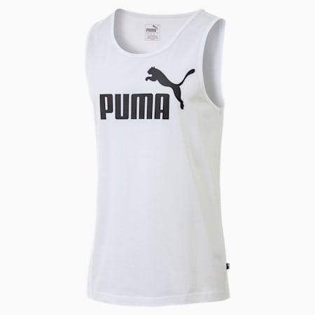 Essentials Men's Tank, Puma White, small