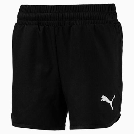 Active Girls' Shorts, Puma Black, small-GBR