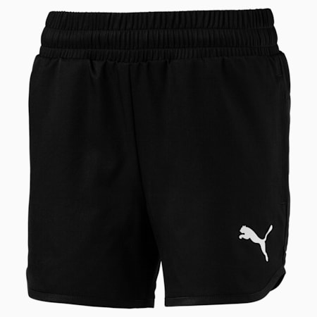Active Girls' Shorts, Puma Black, small-SEA