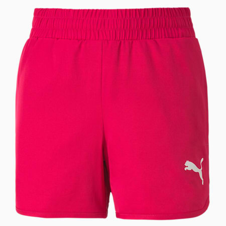 Active Girls' Shorts, BRIGHT ROSE, small