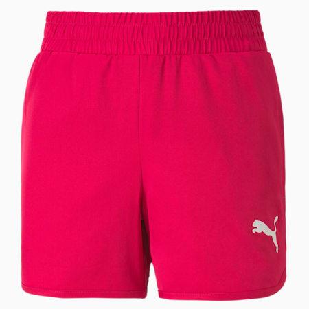Active Girls' Shorts, BRIGHT ROSE, small-SEA