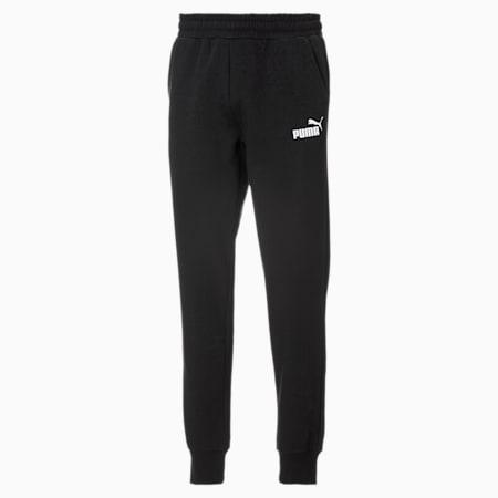 Pantaloni felpati in pile Essentials uomo, Puma Black, small