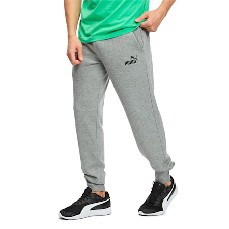 Essentials Men's Sweatpants, Medium Gray Heather, small-SEA