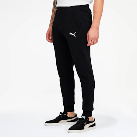 Essentials Men's Sweatpants, Puma Black-Cat, small