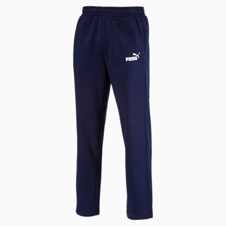 Essentials Fleece Men's Pants, Peacoat, small-IND