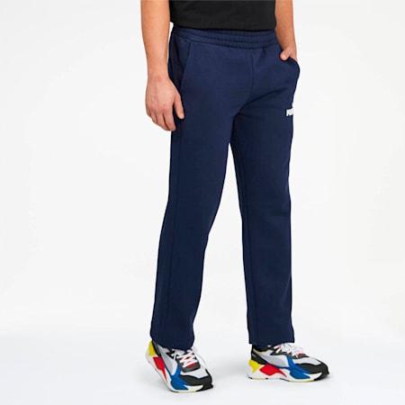 Essentials Men's Fleece Pants, Peacoat, small