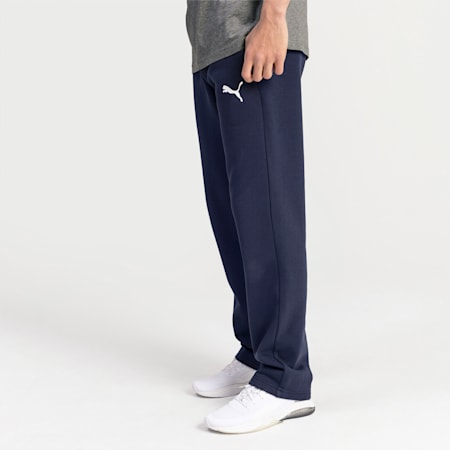 Essentials Fleece Men's Pants, Peacoat-Cat, small