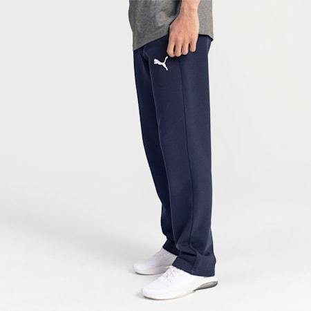 Pantaloni in pile Essentials uomo, Peacoat-Cat, small