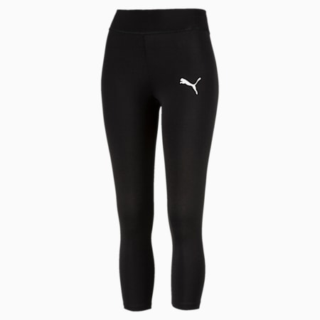 Active Girls' Leggings, Puma Black, small