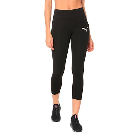 Active Girls' dryCELL Leggings, Puma Black, small-IND