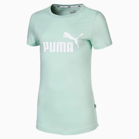 Essentials T-shirt voor meisjes, Mist Green, small