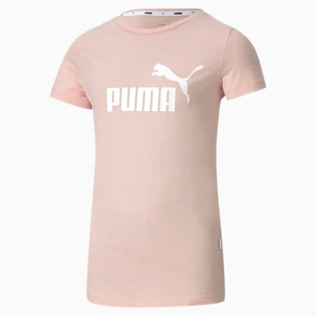 T-shirt Essentials bambina, Peachskin, small