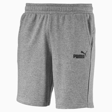 Shorts deportivos Essentials para hombre, Medium Gray Heather, pequeño