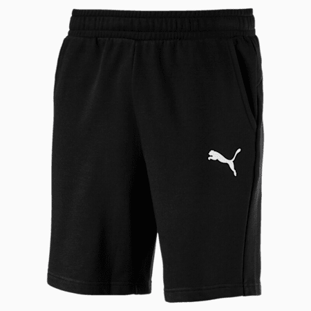 "Essentials 10"" Men's Sweat Shorts, Puma Black-Cat, small-IND"