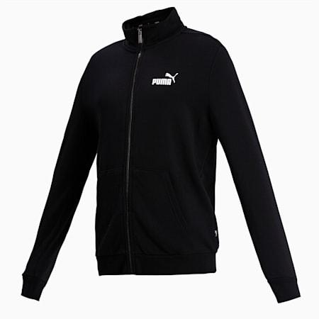Essentials Men's Track Jacket, Puma Black, small-IND