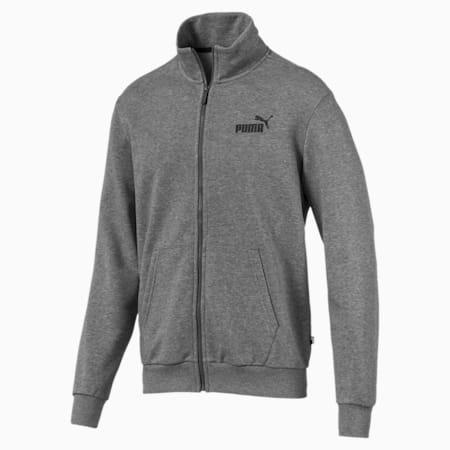 Essentials Men's Sweat Jacket, Medium Gray Heather, small-SEA
