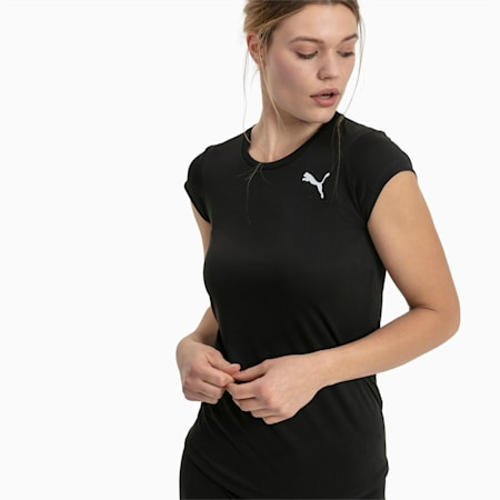 Active Women's Tee, Puma Black, small