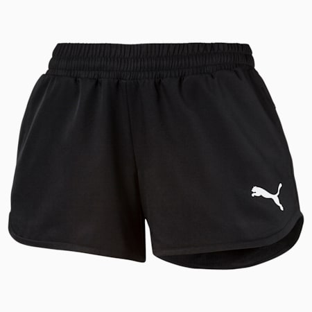 Active Woven Women's Shorts, Puma Black, small-GBR