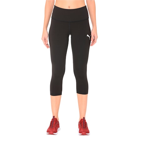 Active 3/4 dryCELL Women's Leggings, Puma Black, small-IND