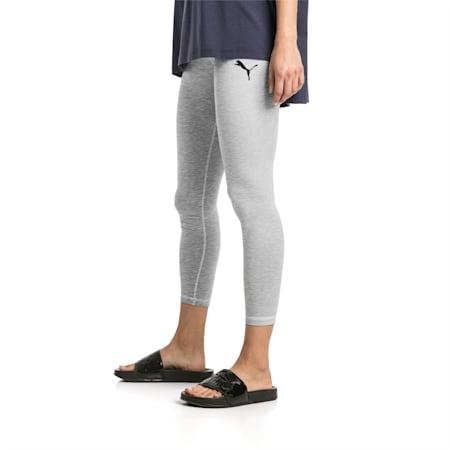 Active Women's Leggings, Light Gray Heather, small