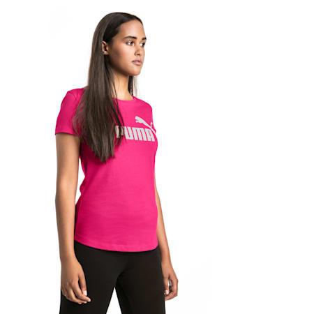 Essentials Damen T-Shirt, Beetroot Purple, small