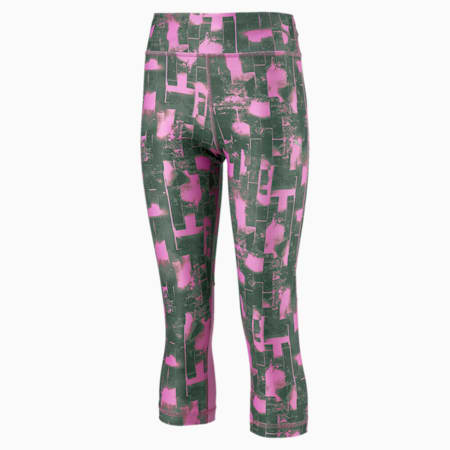 Explosive 3 4 Leggings G Puma White-AOP, Orchid-AOP, small-IND