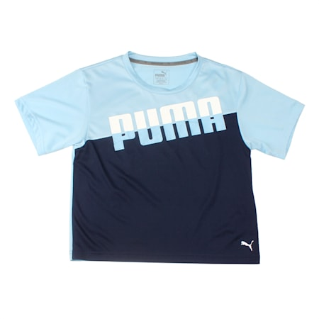 A.C.E. Girls' Tee, CERULEAN, small-IND