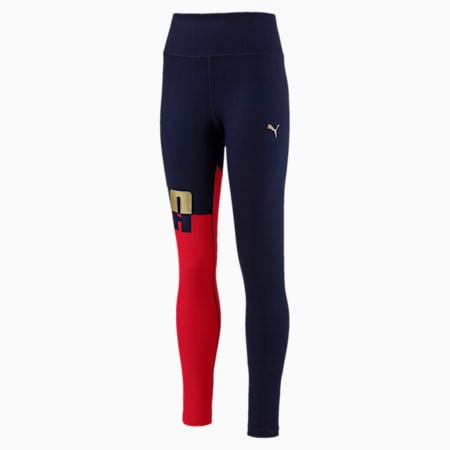 A.C.E. Girls' Leggings, Ribbon Red, small-IND