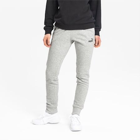Essential Damen Gestrickte Sweatpants, Light Gray Heather, small