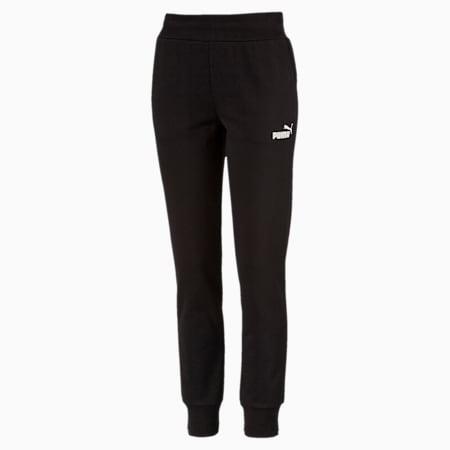 Essentials Fleece Women's Pants, Cotton Black, small-GBR