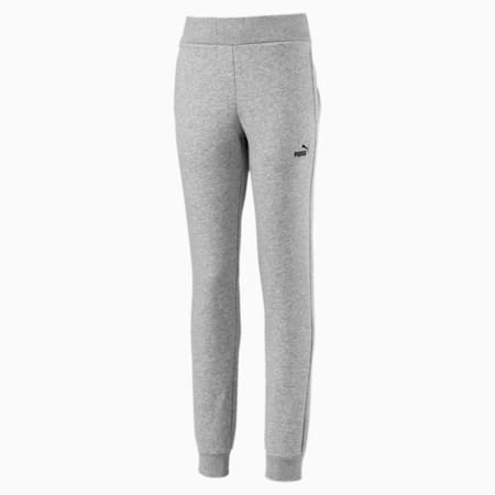 Essentials Mädchen Sweatpants, Light Gray Heather, small