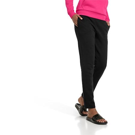 Essentials Damen Fleece Sweatpants, Cotton Black, small