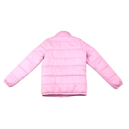 Girls' Padded Jacket, Orchid, small-IND
