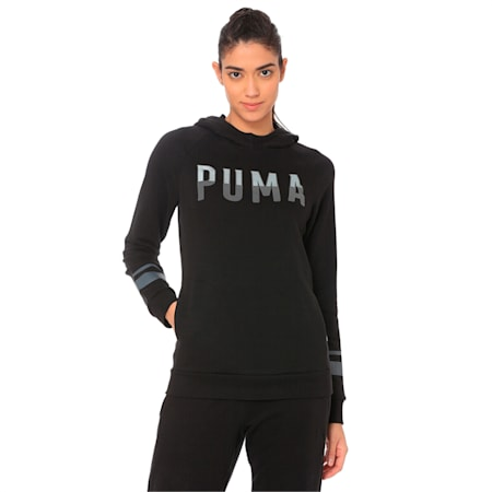 ATHLETIC Hoody TR Cotton Black, Cotton Black, small-IND