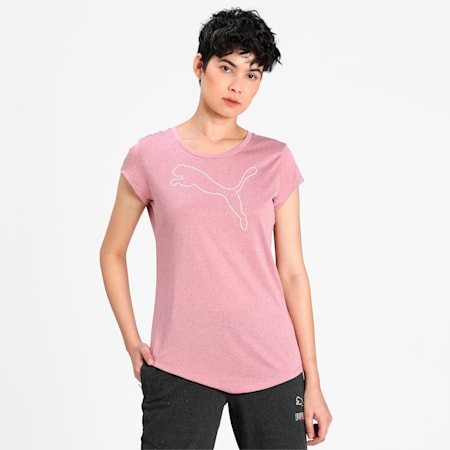 Active Heather dryCELL T-Shirt, Foxglove, small-IND