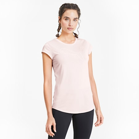 Active Heather dryCELL T-Shirt, Rosewater Heather, small-IND
