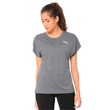 Active Mesh Heather dryCELL T-Shirt, Puma Black Heather, small-IND
