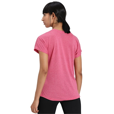 Active Mesh Heather dryCELL T-Shirt, BRIGHT ROSE Heather, small-IND