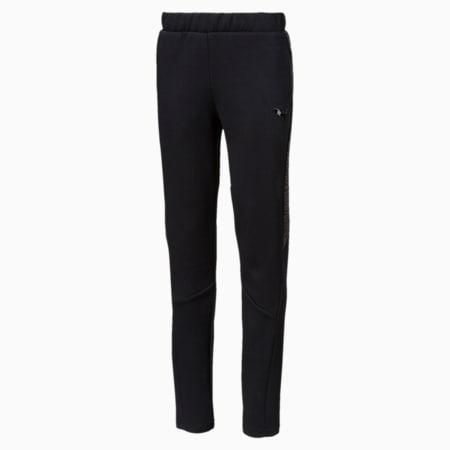Pantalon de survêtement Evostripe pur garçon, Cotton Black, small