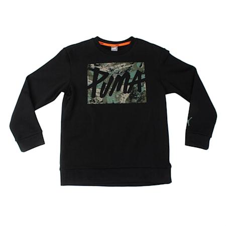 Style Crew Sweat B Cotton Black, Cotton Black, small-IND