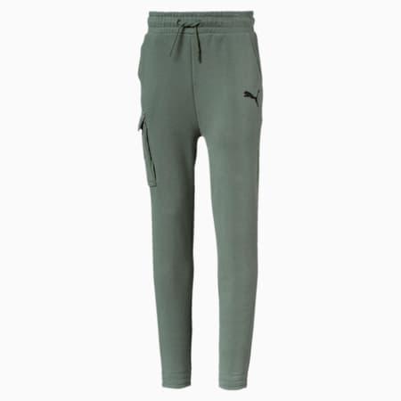 Style Pants B Cotton Black, Laurel Wreath, small-IND