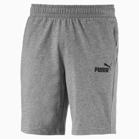 Essentials Jersey Men's Shorts, Medium Gray Heather, small-SEA