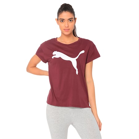 Active dryCELL Women's T-Shirt, Fig, small-IND